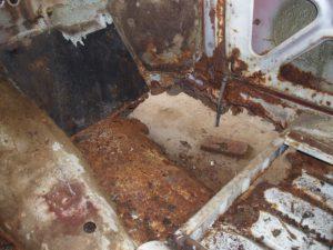 Actual rust bucket